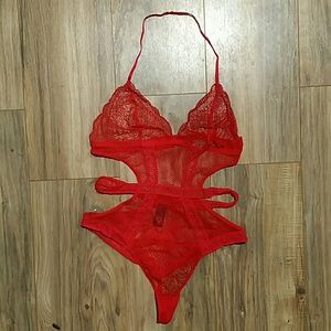 NWNT Victorias secret red lingerie